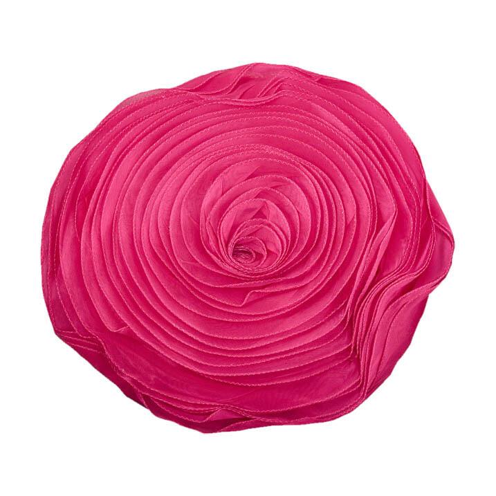 Hot Pink Print Pillow