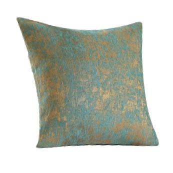Green Chenille Pillow