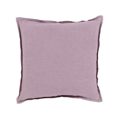 Lavender Linen Pillow