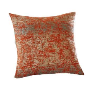 Orange Chenille Pillow