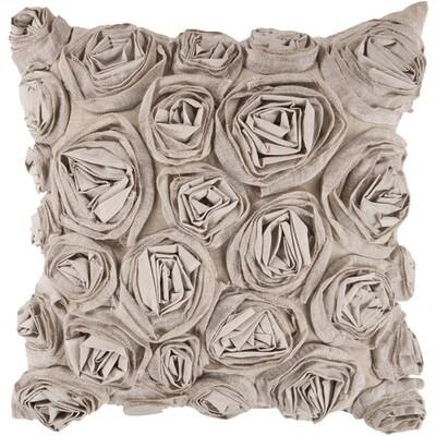 Textured Rose Pillow