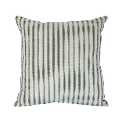 Striped Navy Pillow
