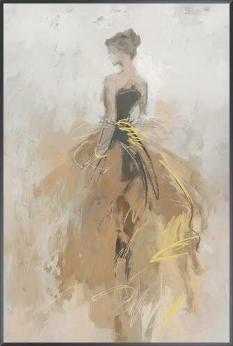 """Clothed in Elegance Painting 24"""" x 36"""""""