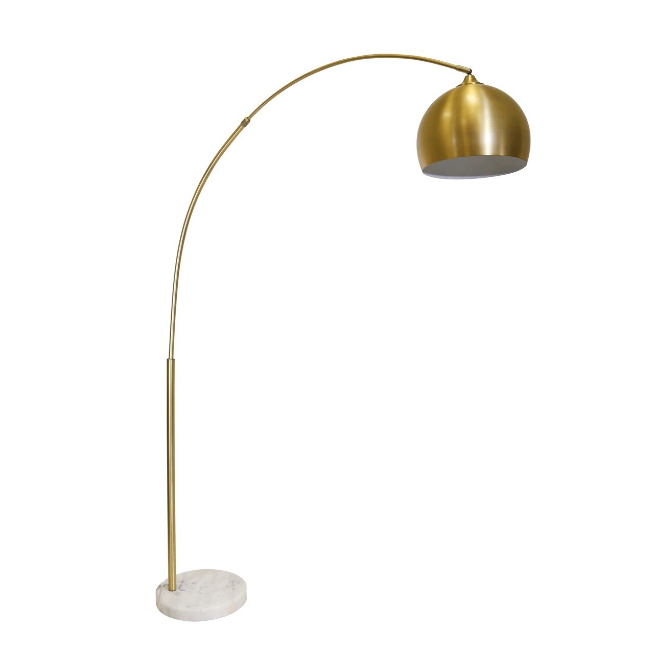 "Gold Arch Floor Lamp 77"""