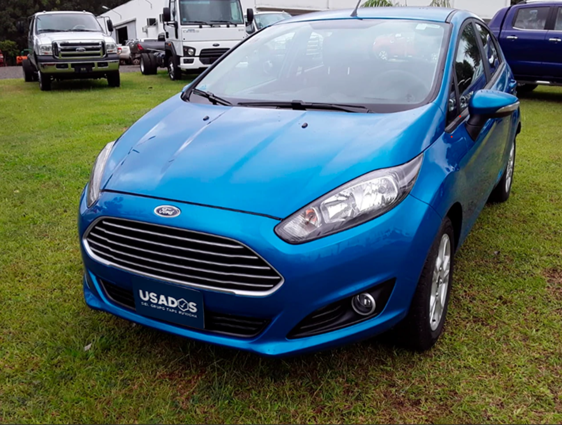 FORD FIESTA 1.6L FLEX