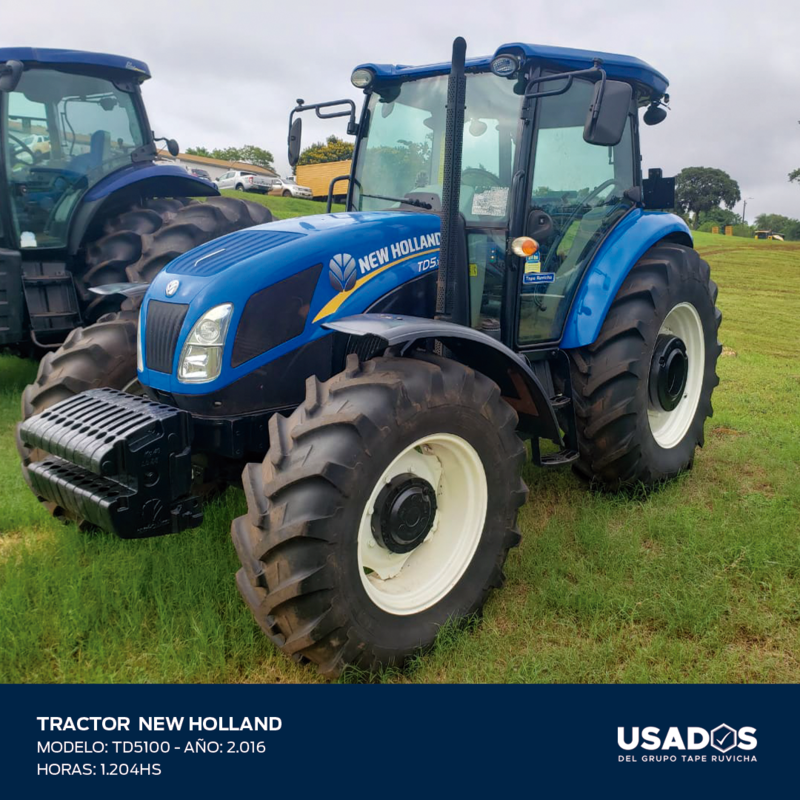 TRACTOR NEW HOLLAND TD5100