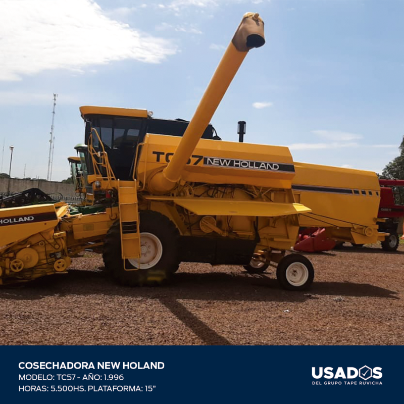 COCECHADORA NEW HOLLAND TC57