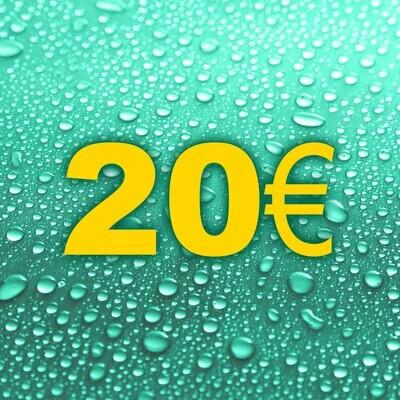 + 2€ geschenkt