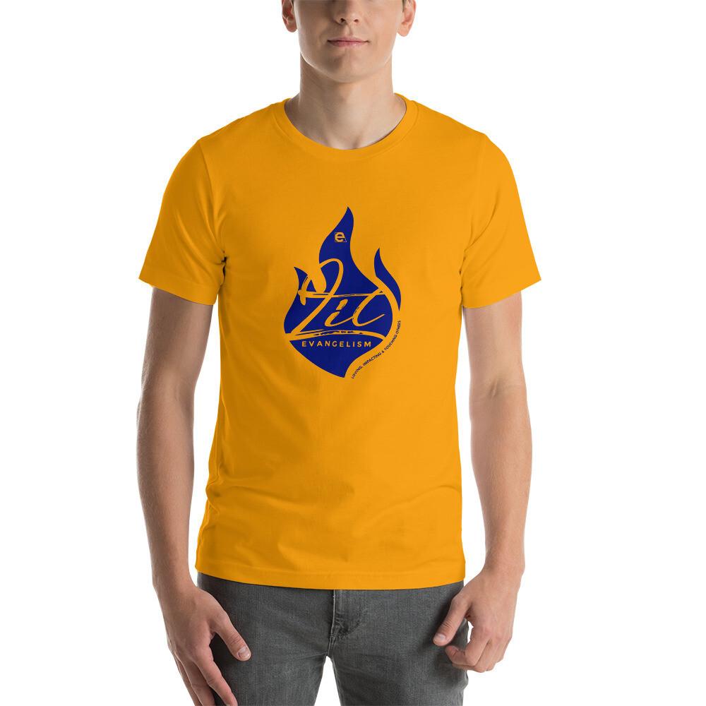 LIT Unisex T-Shirt (Gold/Blue)