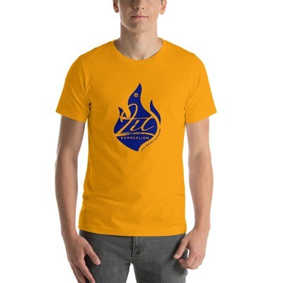 LIT Unisex T-Shirt (Gold/Blue)