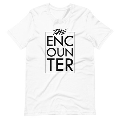 The Encounter Unisex T-Shirt (white)