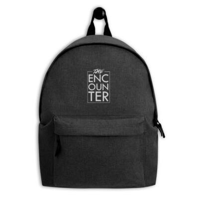 The Encounter Embroidered Backpack