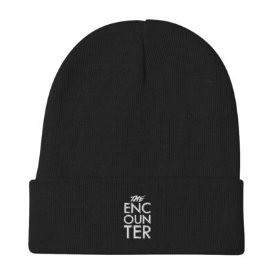 The Encounter Embroidered Beanie