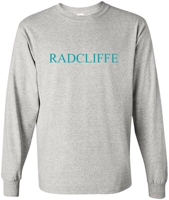 Gray Long Sleeve Radcliffe T-Shirt