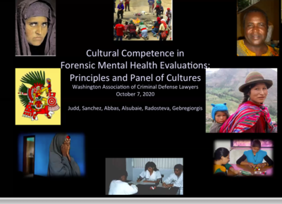 Mental Health 360: Cultural Competence in Forensic Mental Health Evaluations