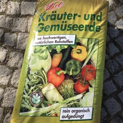 BIO Kräuter- und Gemüseerde 45L