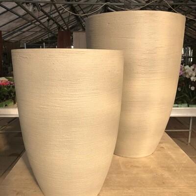 Outdoor Gefäß Pot hoch - Fiberstone