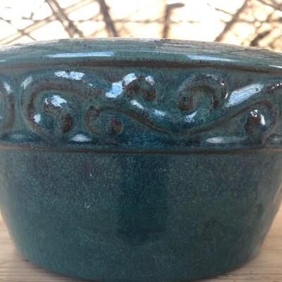 Schale rund Terracotta