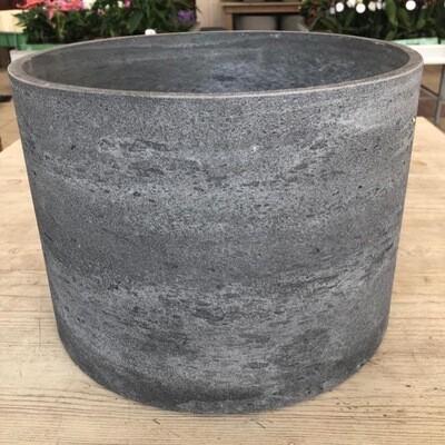Topf Light Cement gerade dunkelgrau