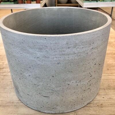 Topf Light Cement gerade hellgrau
