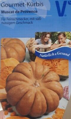 "Gourmet-Kürbis ""Muscat de Provence"""