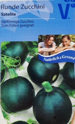 Runde Zucchini Satelite