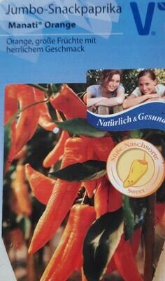 "Jumbo-Snackpaprika ""Manati Orange"""