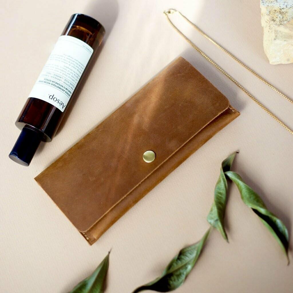 Clutch by Flint Leather