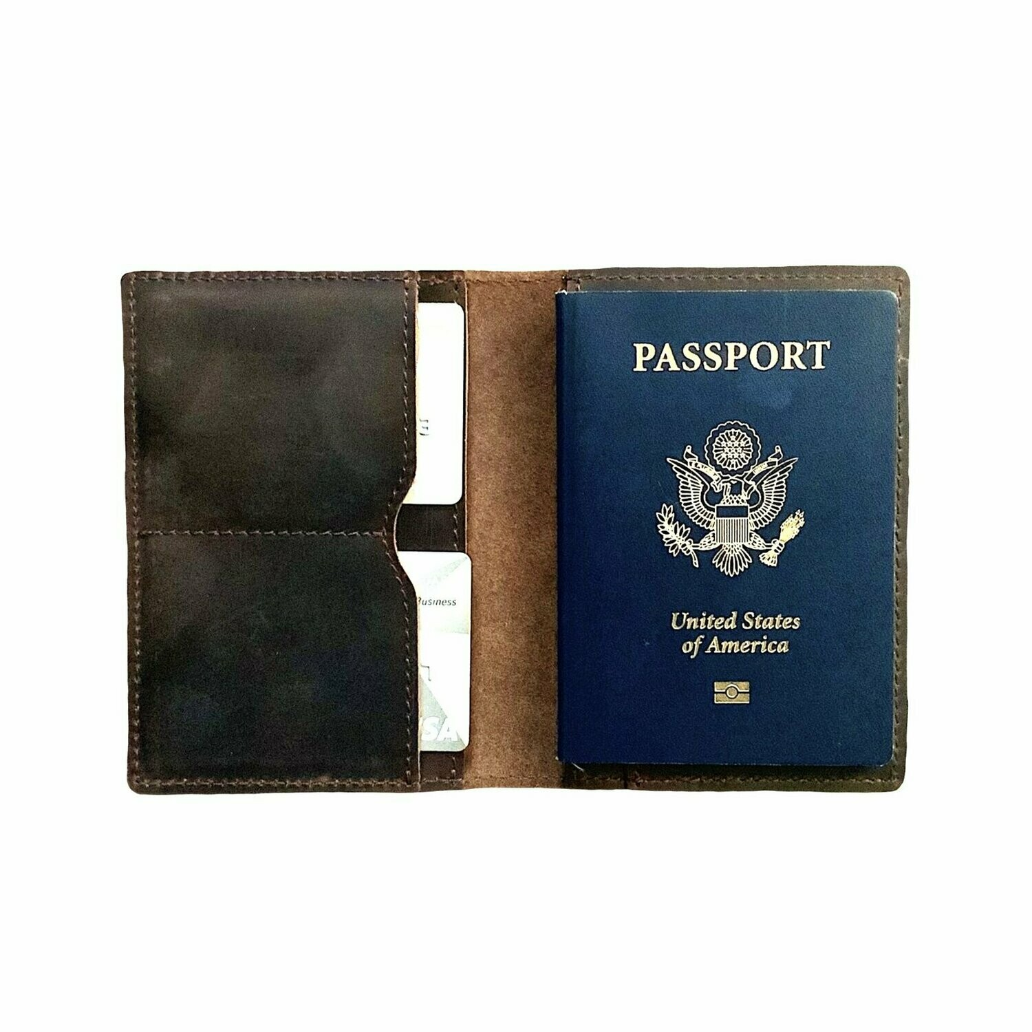Passport Case by Flint Leather