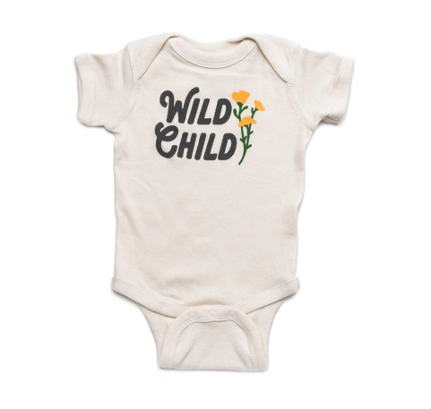 KNW Wild Child Onesie
