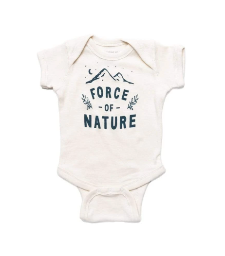 KNW Force of Nature Onesie