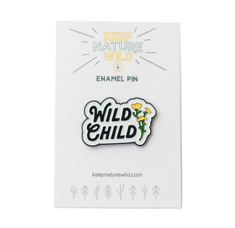 KP NAT WILD CHILD PIN
