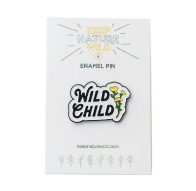 KNW WILD CHILD PIN