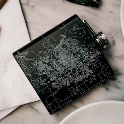Engraved Hip Flasks