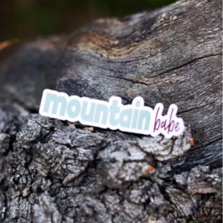 LL Mountian Babe Sticker