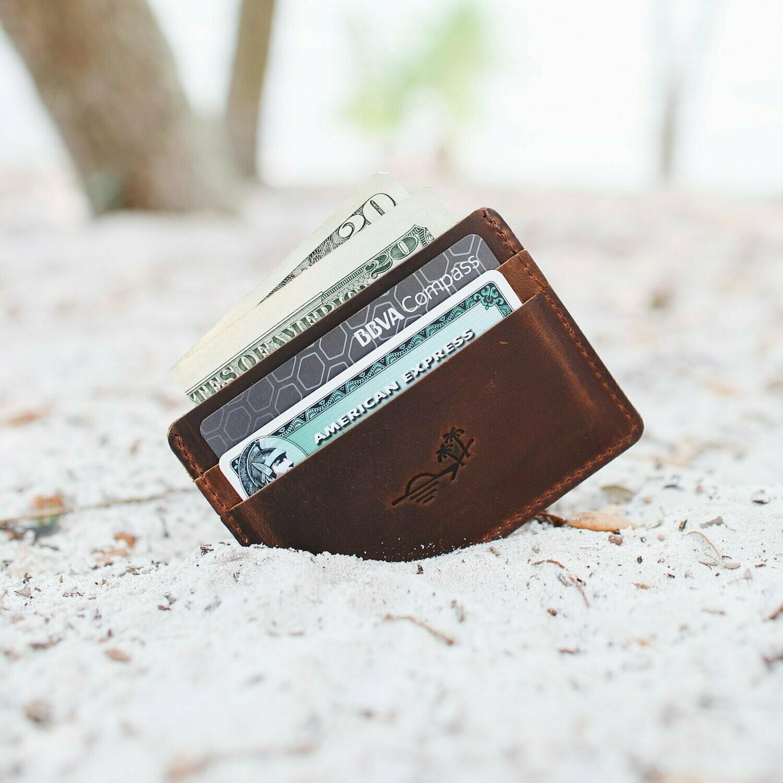 Slim Wallet by Flint Leather