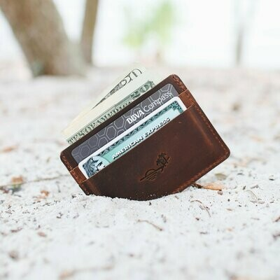 Slim Wallet by Flint Leather
