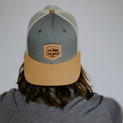 LL Leather Badge Hat Birch