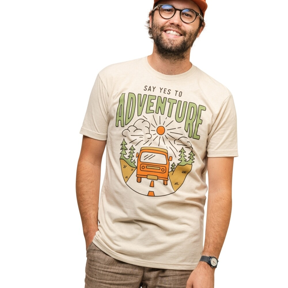 KNW Say Yes To Adventure Unisex Tee