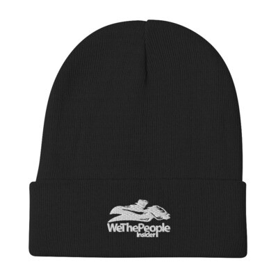 WeThePeople Insider Embroidered Beanie
