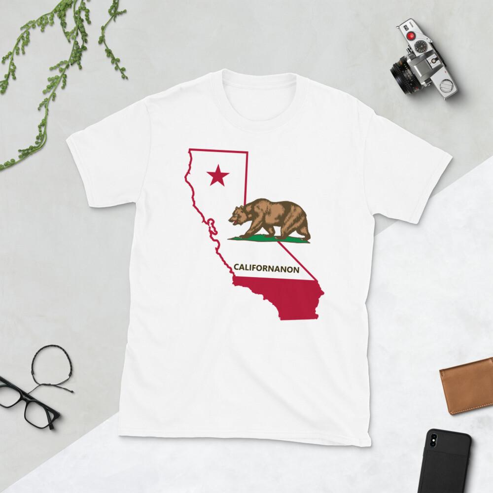"""""""Californanon"""" Short-Sleeve Unisex T-Shirt"""