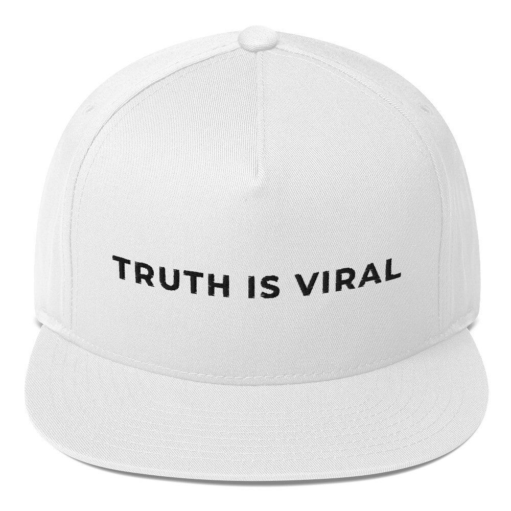 """TRUTH is Viral"" Flat Bill Cap"