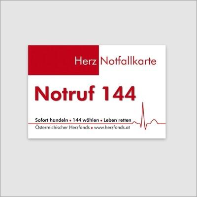 Herz-Notfallkarte