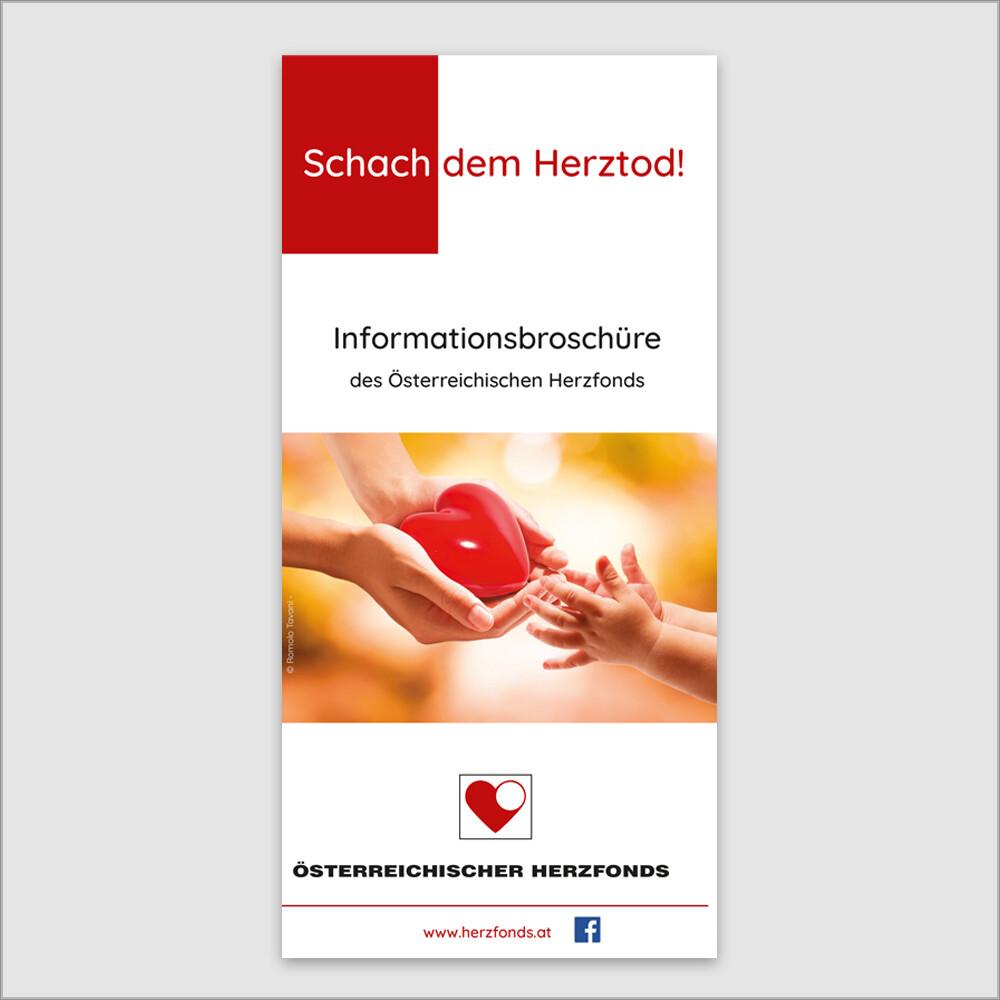 Infobroschüre Herzfonds