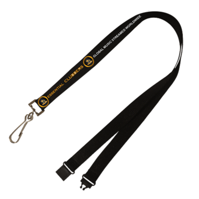 ESSENTIAL CLUBBERS LANYARD