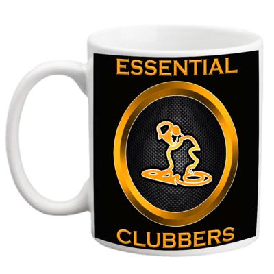 CERAMIC ESSENTIAL CLUBBERS COFFEE MUG