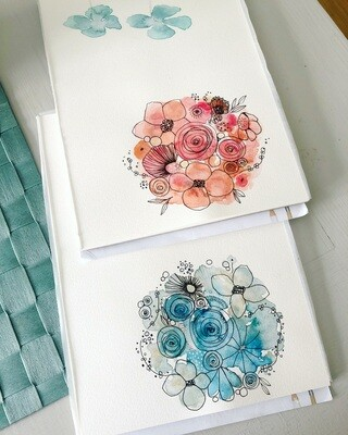 Design cards mixed 10 pieces