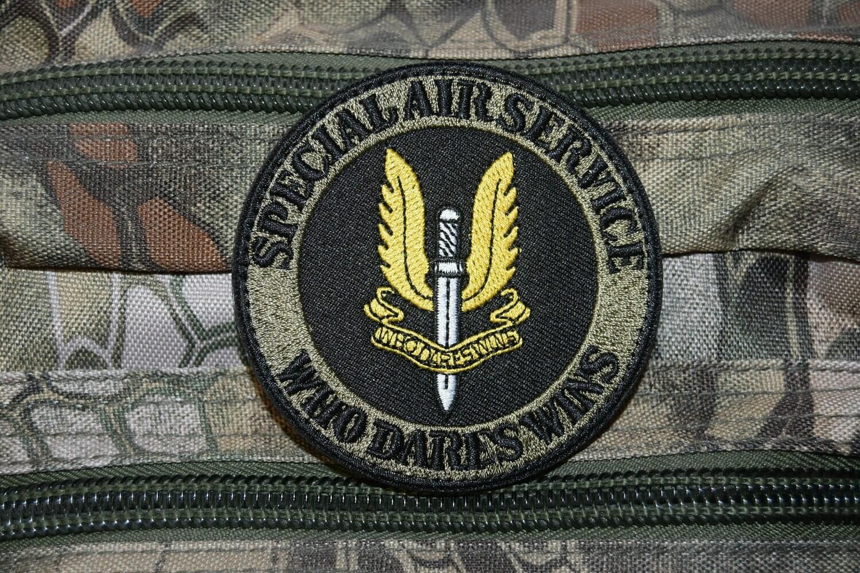 Patch SAS SPECIAL AIR SERVICE avec scratch au dos