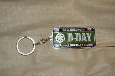 Porte clé Normandie D-DAY 6 Juin 1944 Jour J