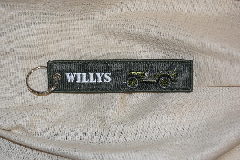 Porte clé Normandie Débarquement D-day 1944 Jeep Willys